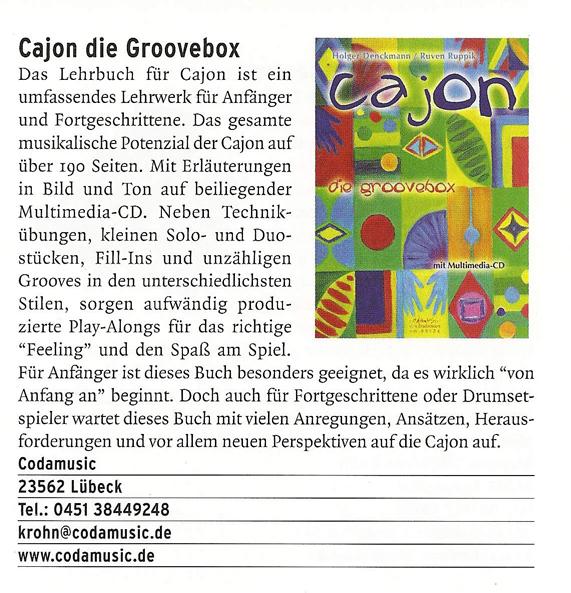 CAJON Die Groovebox